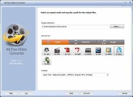 All Free Video Converter screenshot 4