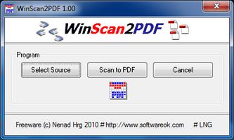 WinScan2PDF screenshot 3
