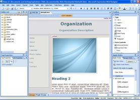 Microsoft Expression Web screenshot 4