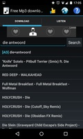 Free Mp3 Downloads screenshot 3