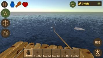 Raft Survival Simulator screenshot 11