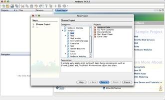 Apache NetBeans screenshot 4