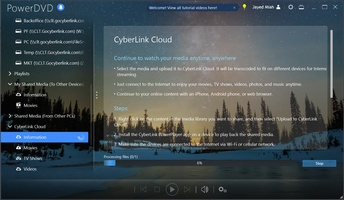 Cyberlink PowerDVD screenshot 2