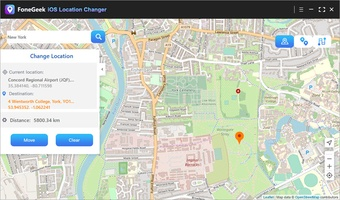 FoneGeek iOS Location Changer screenshot 4