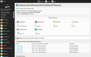RosarioSIS screenshot 2