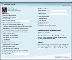 Iron Man Windows Live Messenger Skin screenshot 3
