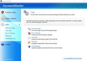 SpywareBlaster screenshot 6