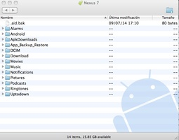 Android File Transfer screenshot 2
