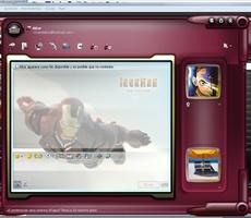 Iron Man Windows Live Messenger Skin screenshot 4