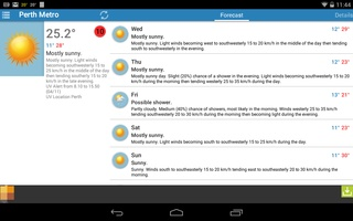 Au Weather Free screenshot 2