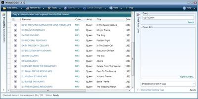 Metatogger screenshot 2