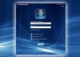 Skin Windows Vista para Windows Live Messenger screenshot 2