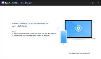 FoneGeek iOS Location Changer screenshot 3