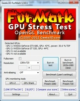 FurMark screenshot 2