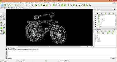 LibreCAD screenshot 2