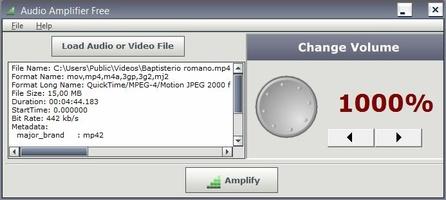 Audio Amplifier screenshot 2
