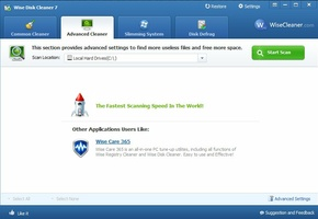 Wise Disk Cleaner Portable screenshot 6