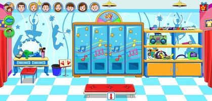 My Town : Dance School Free screenshot 4