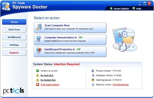 Spyware Doctor screenshot 7