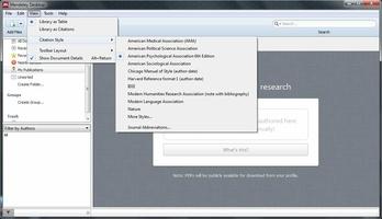 Mendeley Desktop screenshot 5