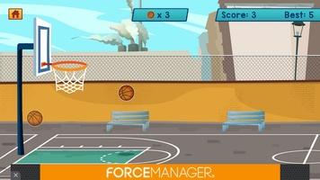 Basketball Bubble Toss Burst Free Mega Super Games screenshot 7