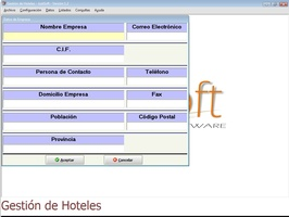Gestion Hoteles screenshot 2