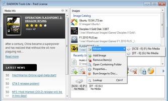 DAEMON Tools screenshot 2