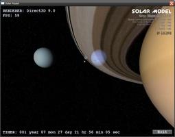 Solar Model 3D screenshot 3