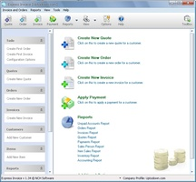Express Invoice Free Invoicing software screenshot 2