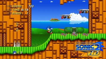 Sonic 2 HD screenshot 3
