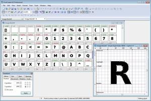 FontCreator screenshot 2