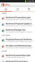 Office Mobile for Office 365 screenshot 3