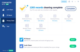 Clean Master screenshot 3