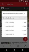 AyaTube Video Downloader screenshot 2