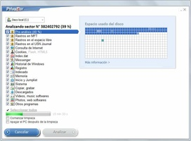 PrivaZer screenshot 2