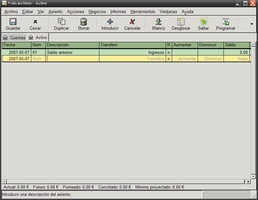 GnuCash Portable screenshot 4