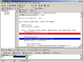 Bloodshed Dev C++ screenshot 2
