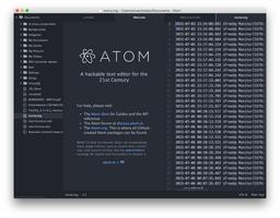Atom screenshot 4