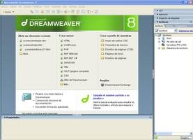 Macromedia DreamWeaver screenshot 2