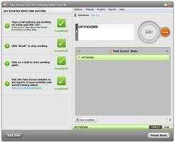 Time Doctor for Mac OS X screenshot 5