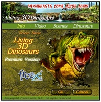 3D Dinosaurs Screensaver screenshot 6