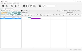 GanttProject screenshot 2