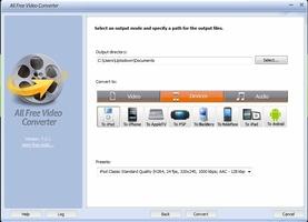 All Free Video Converter screenshot 5