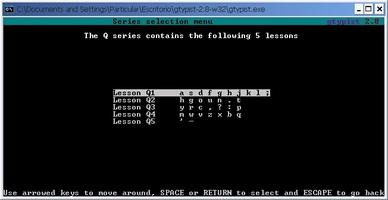 GNU Gtypist screenshot 2