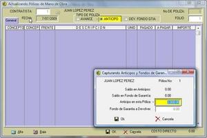Sistema de Control de Obra ConstruData screenshot 3