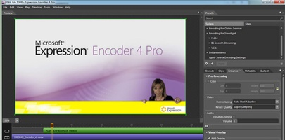 Microsoft Expression Encoder screenshot 7