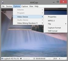 AMCap screenshot 2