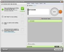 Time Doctor for Mac OS X screenshot 4