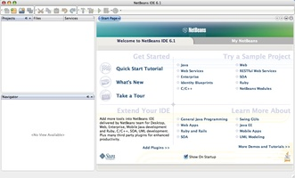 Apache NetBeans screenshot 2