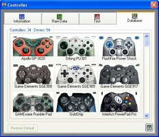 Xpadder screenshot 2
